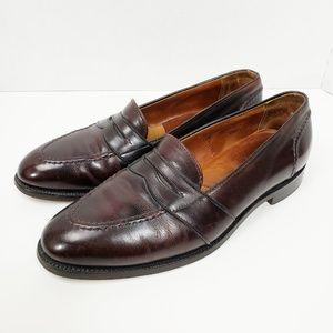 Alden Leather Penny Loafer Shoes 10.5 BD